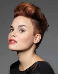 clipper cut hairstyles for women short hairstyle with clipper cut sides and back undercut