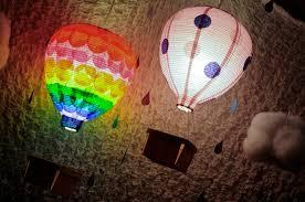 Rainbow Bathroom Accessories by Rainbow Hot Air Balloon Birthday Party Hello Brielle