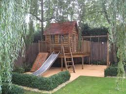 Wooden Backyard Playhouse The 25 Best Shed Playhouse Ideas On Pinterest Playhouse Ideas