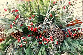 Outdoor Christmas Ornament Balls by Serendipity Refined Blog Christmas Front Porch And Urn Planter
