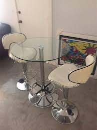 modern breakfast tables modern breakfast table with 2 chairs for sale in miami fl