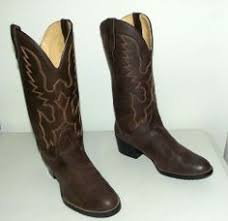 womens brown cowboy boots size 11 two tone bronco brand cowboy boots 6 5 d or womens size 8 vegan