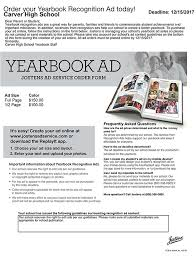 order high school yearbook yearbook high school carver schools