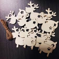 aliexpress com buy 10pcs diy christmas hanging decor wooden