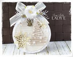 christmas bauble card tutorial by lady e youtube