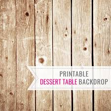 Dessert Table Backdrop by Wooden Printable Dessert Table Backdrop Birthday Backdrop