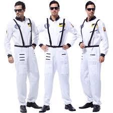 Halloween Astronaut Costume Masquerade Dress White Promotion Shop Promotional
