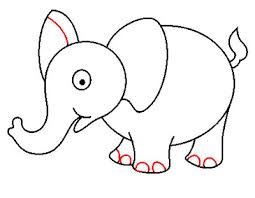 steps to sketch an elephant