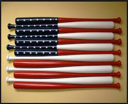 American Flag Home Decor Let U0027s Talk Wood Slicing A Baseball Bat Down The Middle Sure I