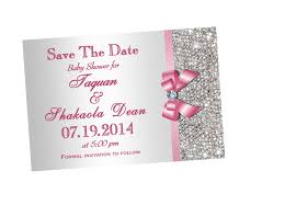 baby shower save the date bling baby shower invitation through my lynnz media