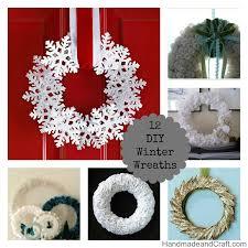 diy wreaths diy winter wreaths