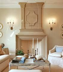 herringbone interior living room mediterranean with flush hearth