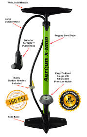anatomy of a better bike pump aergun x 1000 save 20 today go