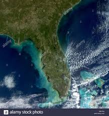 satellite map of florida satellite view of florida atlantic the eastern portion of