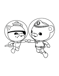 Coloring Pages Octonauts The Pictures To Print And Color The The Octonauts Coloring Pages