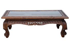 furniture carved coffee table design ideas wood carved tables