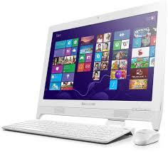 bureau ordinateur fixe lenovo aio c260 57331456 achat ordinateur de bureau grosbill
