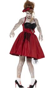 cavewoman halloween costumes 1950 u0027s rockabilly zombie costume housewife zombie halloween costume