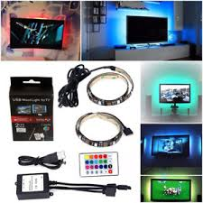 color changing led strip lights with remote 2in1 50cm usb rgb strip light remote color changing led tv laptop