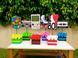 80s party table decorations i love the 80s birthday bash party centerpieces 80s party brilliant
