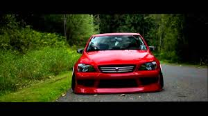 stance toyota тюнинг toyota altezza is300 в стиле stance youtube