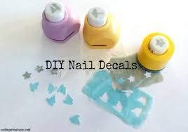 how to make nail stickers college fashion