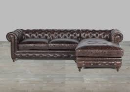 Brown Leather Sofa With Chaise Leather Sectional Artisan Leather Sectionals Living Room Leather