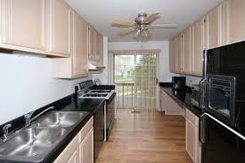 kitchen floor galley kitchen with white cabinets great home design