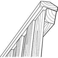 Bunnings Trellis 90 X 45mm 5 4m Kd Treated Pine Rebated Fence Capping I N 0120338
