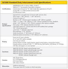 qci 200 series standard duty interconnected locks u2013 knowledge base