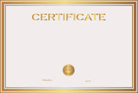 certificate template png transparent png images pluspng
