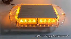 magnetic base strobe light 24 amber 1 watt led emergency hazard security warning strobe