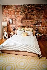 brick wallpaper in a bedroom http www texturedwallpaper net
