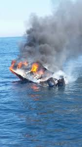 5 rescued after boat catches fire off cape cod masslive com