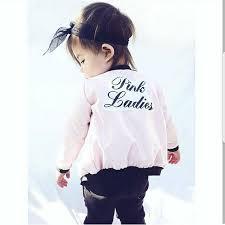 pink ladies jacket sandy grease costume pink ladies bomber