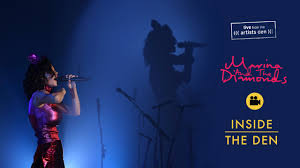 marina and the diamonds live from the artists den