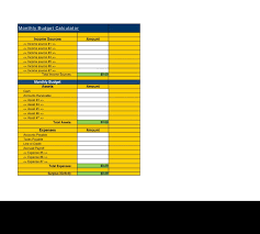 Budget Calculator Spreadsheet by 76 Best Financial Estimate Spreadsheet Templates Images On