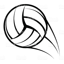 volleyball icon in black outline stock vector art 467179436 istock