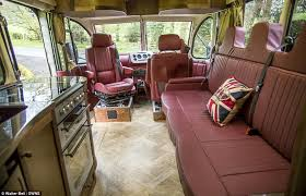 motor home interiors vintage bedford ob transformed into luxury motor home with