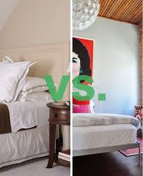 Bedroom Design No Bed Design Duel Bedskirt Or No Bedskirt Apartment Therapy