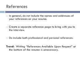 How To List References On Your Resume Sample Reference List For Research Paper In Text Citation In