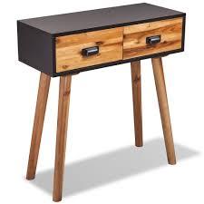 Telephone Console Table Telephone Console Table Solid Acacia Wood 70x30x75 Cm Living Room