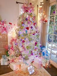 pink christmas tree beautiful pink christmas trees