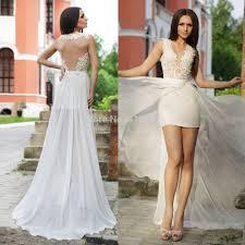 incredible chiffon bridal backless dresses trendyoutlook com