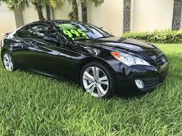 2008 hyundai genesis coupe for sale hyundai used cars trucks for sale plantation sos bank repo