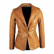 light brown leather jacket womens womens stylish tan leather blazer awesome lambskin at amazon