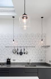 Stylish Hexagon Tiles For Kitchen Walls And Backsplashes Home - Hexagon tile backsplash