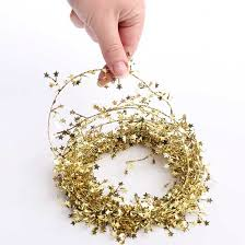 metallic gold garland garlands and