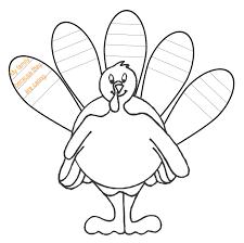 hand turkey drawing templates u2013 happy thanksgiving