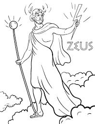 imagenes de zeus para dibujar faciles printable zeus coloring page free pdf download at http